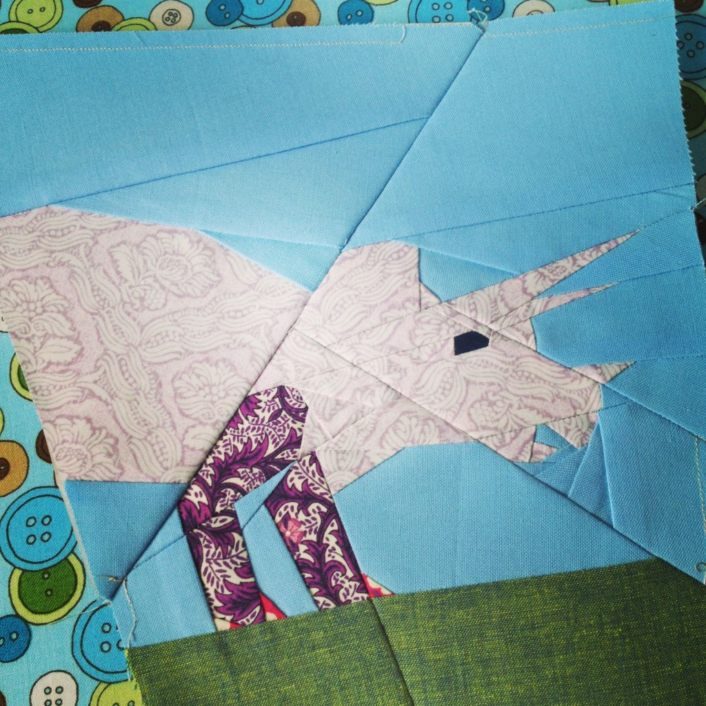 Half a Triceratops