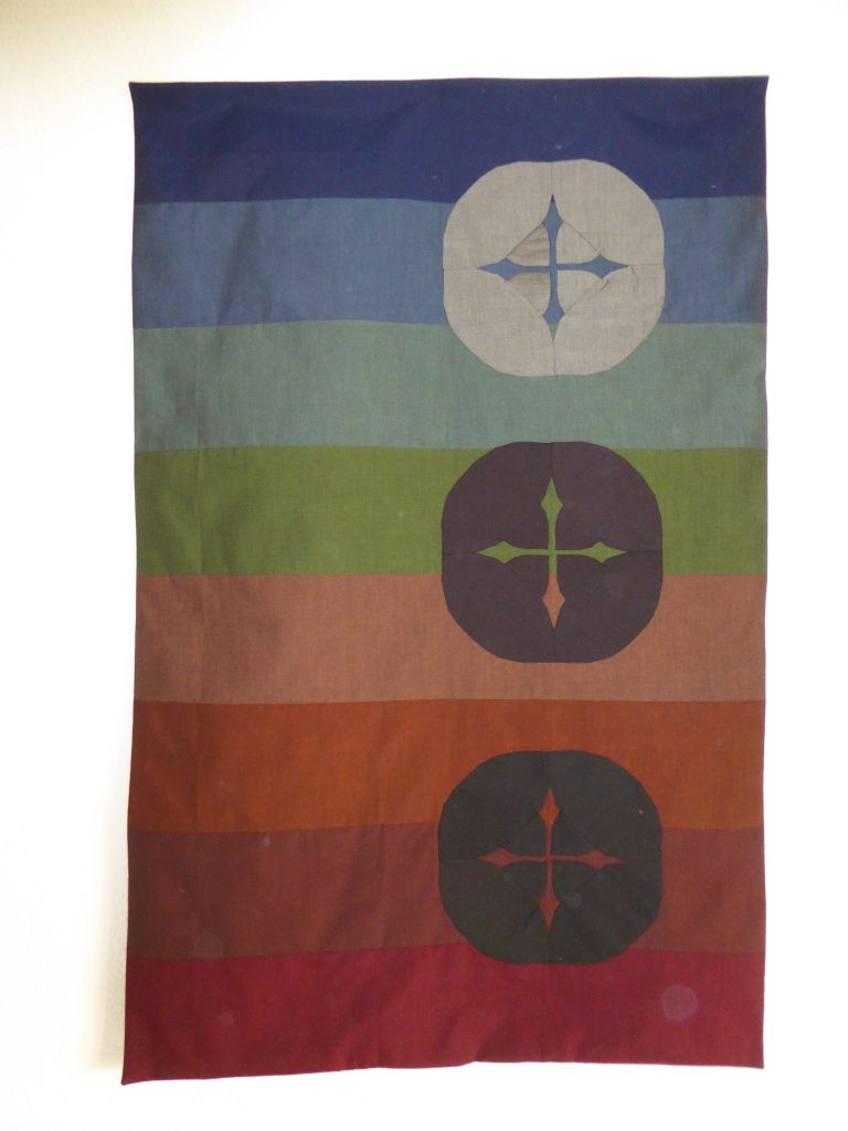 Persimon Quilt 'Heaven and Earth'