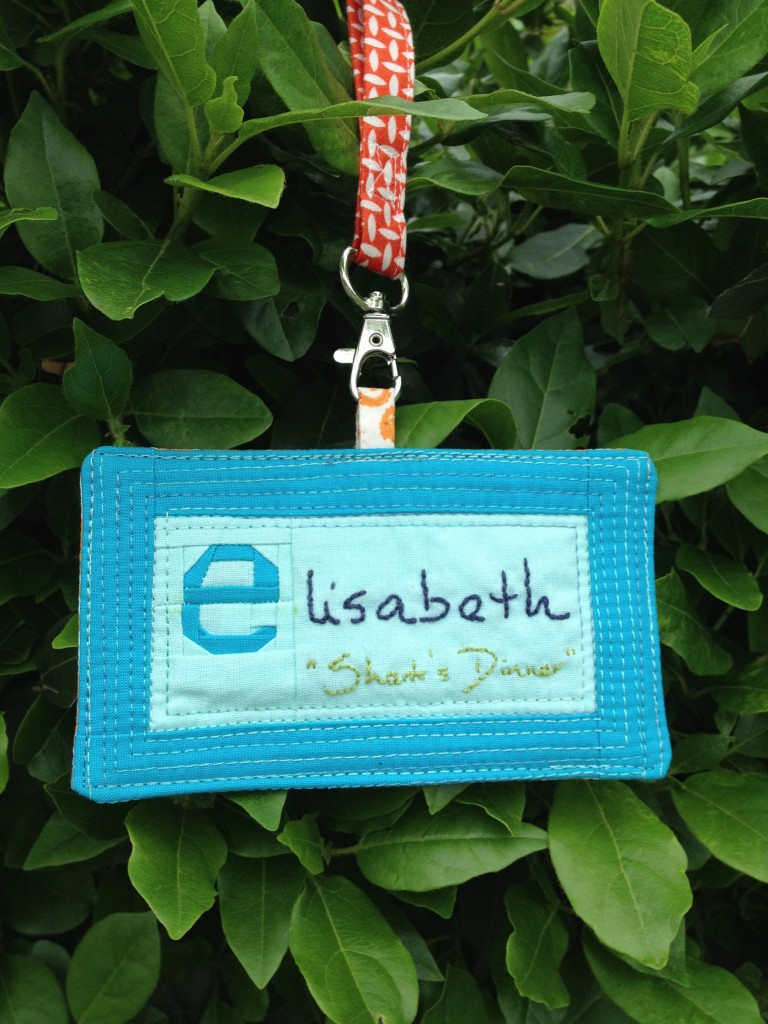 Name Tag by Leanne (She Can Quilt)