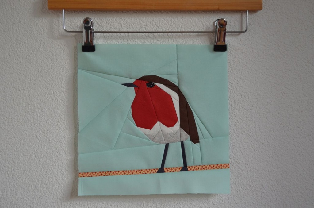 Paper Pieced Robin